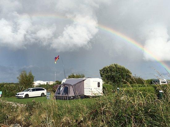 Well-run, friendly clean touring caravan site