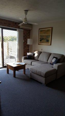 Toowong Villas: Living room