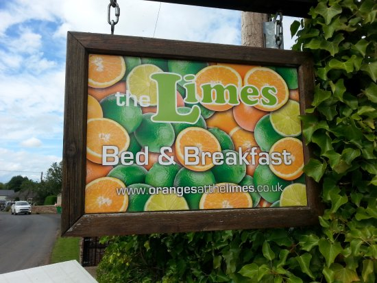 The Limes: Sign along the road