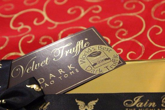 Grandtully, UK: The World's Best Dark Truffle