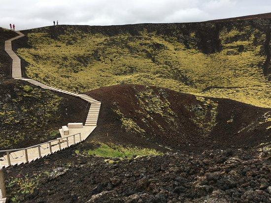 Bifrost, Iceland: Weg zum Krater