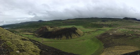 Bifrost, Iceland: Panorama