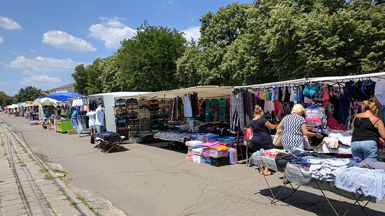 street market in kableshkovo on thursday pomorie bulgarien omd men. Black Bedroom Furniture Sets. Home Design Ideas