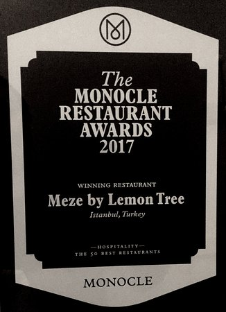 Meze By Lemon Tree: Monocle