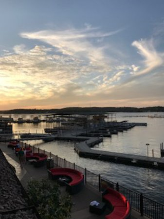 Camden on the Lake Resort: A view from my room, sunsets are beautiful at the lake!