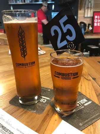 Combustion Brewery & Taproom: Wanderlust and blueprint
