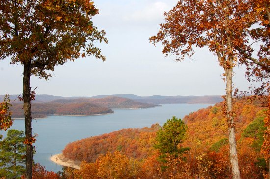Lake Shore Cabins on Beaver Lake: Fabulous Fall