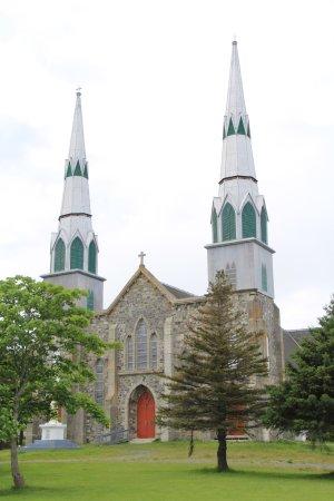 Harbour Grace, Canadá: Immaculate Conception church frontage