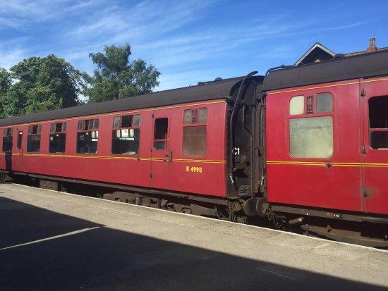 Grosmont, UK: train