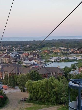 Blue Mountain Village: view from gondola