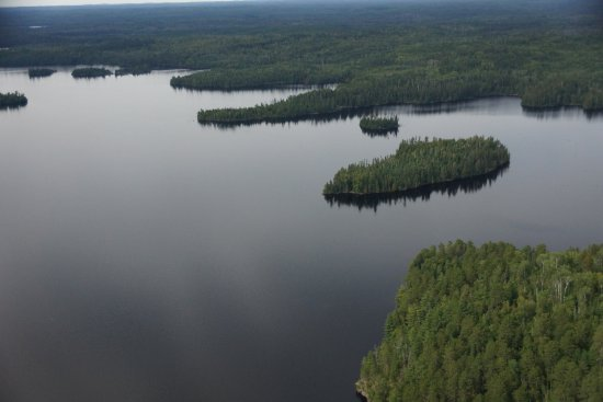 Atikokan, Canadá: view of the upper lake