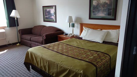 Annandale, MN: One Queen Bed Executive