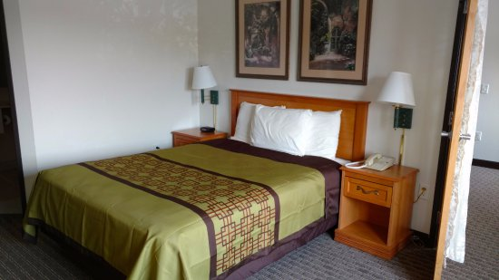 America's Best Inn Annandale : One Queen Bed Jacuzzi