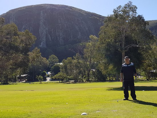 Mount Coolum Golf Club: Backdrop