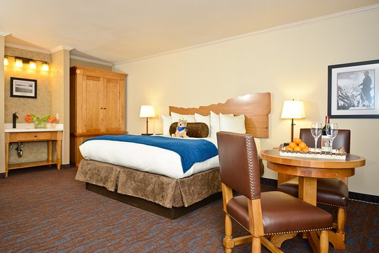 The Lexington at Jackson Hole: One King Bed Courtyard w/Jacuzzi