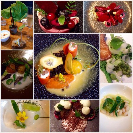 Kop van 't Land: 6 course degustation and amuses
