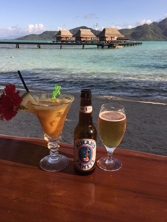 Vahine Island - Private Island Resort: Fab cocktails