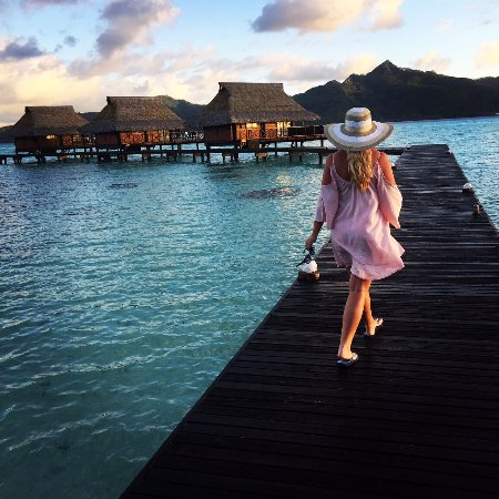 Vahine Island - Private Island Resort: A walk 'home'