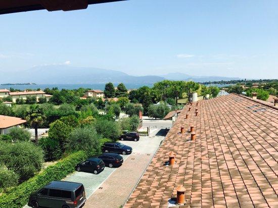 Hotel Donna Silvia: Ausblick aus dem Zimmer