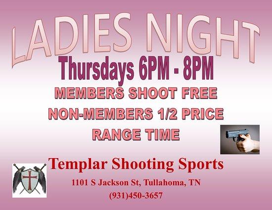 Tullahoma, TN: Ladies Night! Every Thursday!