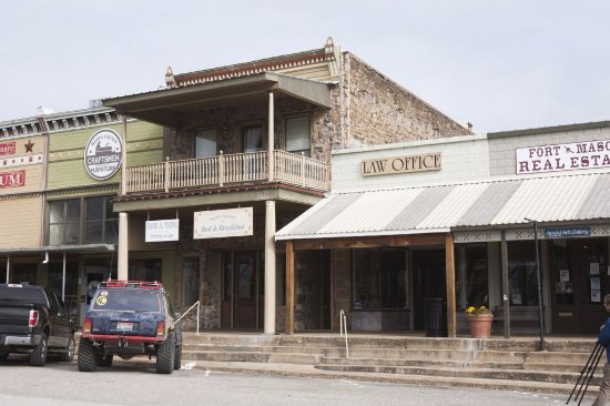 Mason, TX: Exterior view