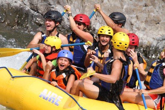 Alberton, MT: Summer rafting in Montana