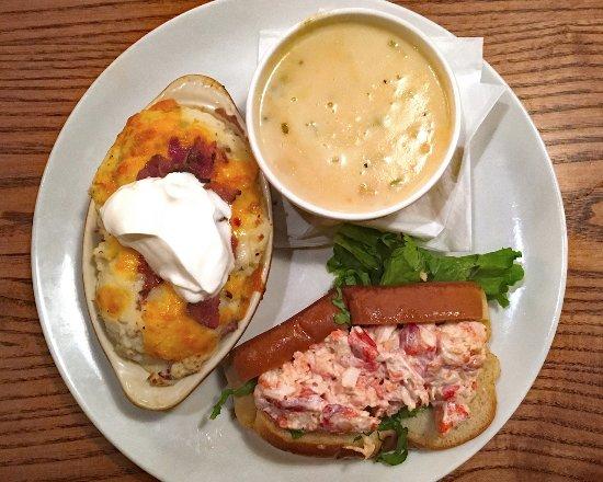 Victor, NY: Uno seafood special