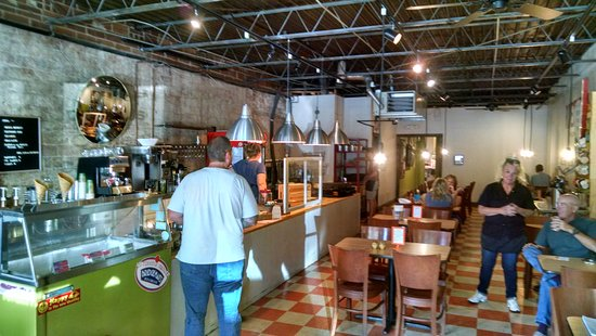 Windom, MN: River City Eatery - the east dining area