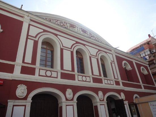Teatro Guerra, Lorca (Alto Guadalentin, Murcie), Espagne.