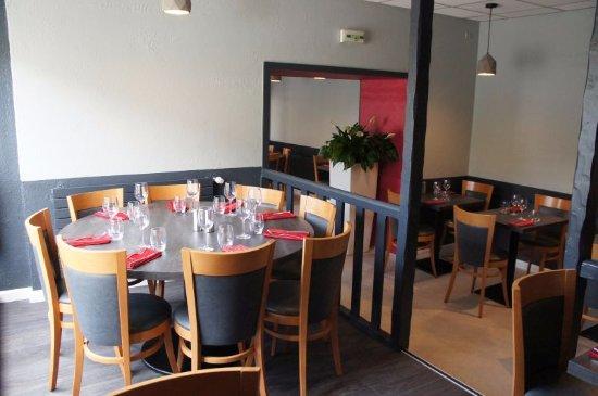Guingamp, Francia: La salle de restaurant