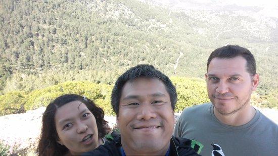 Greece Bird Tours: Selfie time