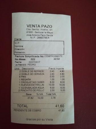 Venta Pazo: precios