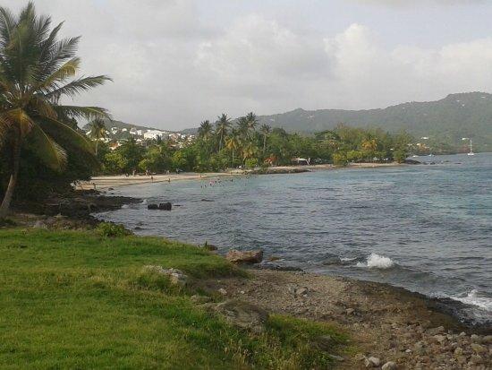 Sainte-Luce, Martinique: Vue des deux plages