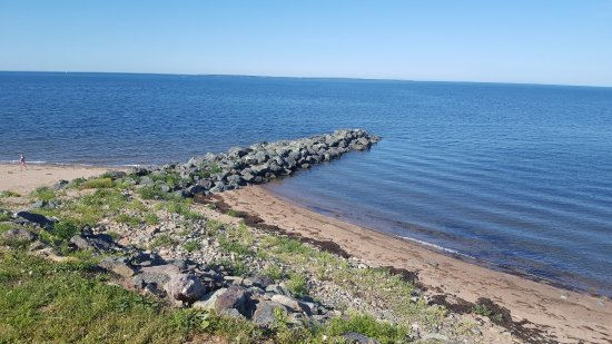 Pictou Lodge Beachfront Resort: Beach area