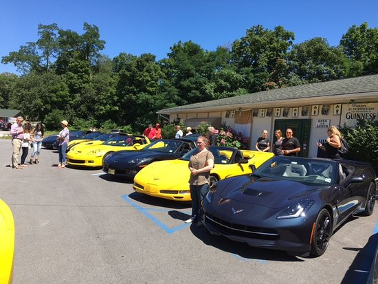 Salisbury Mills, Estado de Nueva York: Lunch with the North Jersey Corvette Club