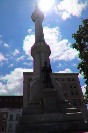 Soldiers and Sailors Civil War Monument: It's beautiful!