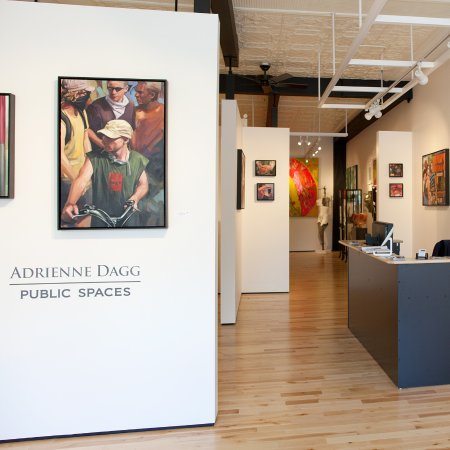 Almonte, Canada: Installation View, Adrienne Dagg, PUBLIC SPACES, at Sivarulrasa Gallery