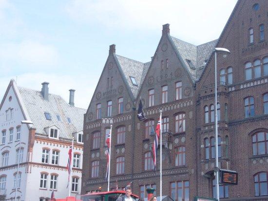 First Hotel Marin: Baksiden av hotellet