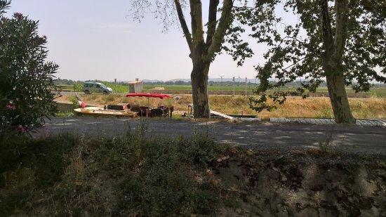 Roubia, فرنسا: vue de la terrasse