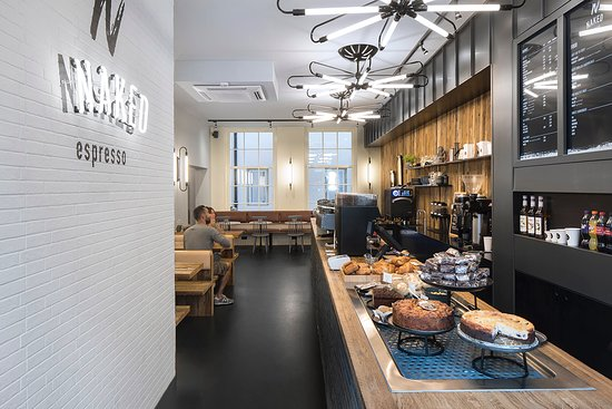 NAKED espresso, Amsterdam - Rotlichtviertel (De Wallen) - Restaurant ...