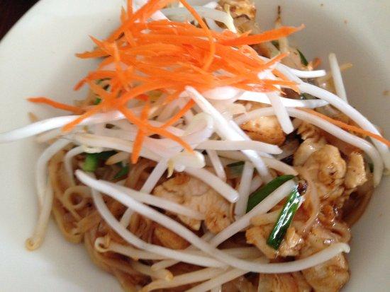 Pad Thai with Chicken ($9) at Larb Thai Food & Tapas in El Cerrito.