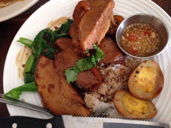 Pork Hock ($10) at Larb Thai Food & Tapas in El Cerrito.