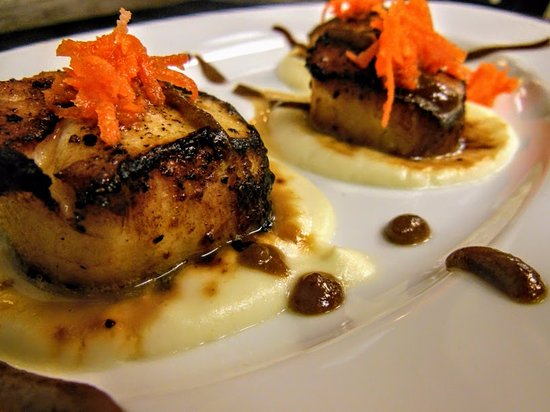 West Creek, NJ: Scallops a la Rodolfo Appetizer