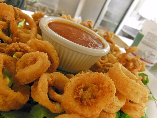 West Creek, Nueva Jersey: Seasoned Calamari Appetizer