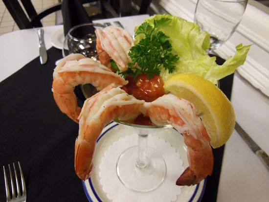 West Creek, Nueva Jersey: Jumbo Shrimp Martini Appetizer