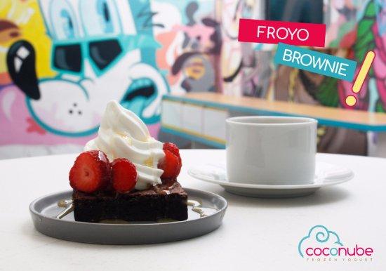 Lima Region, Περού: #FroyoBrownie (Disponible solo en nuestras tiendas de Jockey Plaza y Conquistadores)