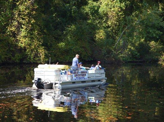 Elizabeth City, NC: Pontoon Tours in the Dismal Swamp