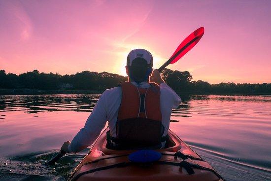 Kayaking near Elizabeth City, NC