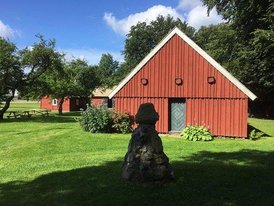 Klippan, Swedia: Et fint lille frilandsmuseum, ikke traditionelt museum men åbent for besøg sidste fredag hver må