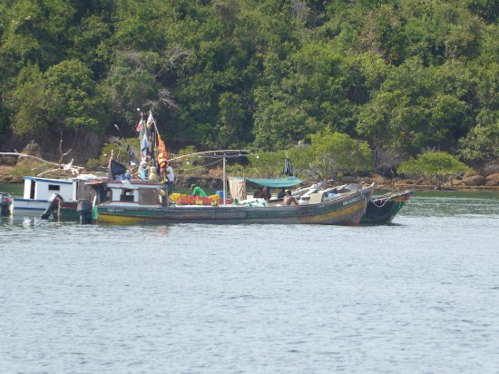 Província de Panamá, Panamá: Local fishing Boats
